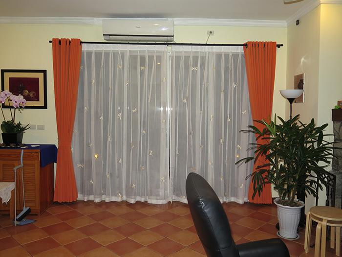 Mẫu rèm cửa phòng ngủ hiện đại được ưa chuộng