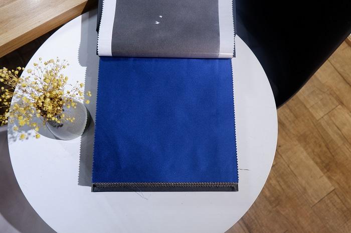 Chất liệu rèm vải lụa RTM 95-3 mềm mại, không thô ráp