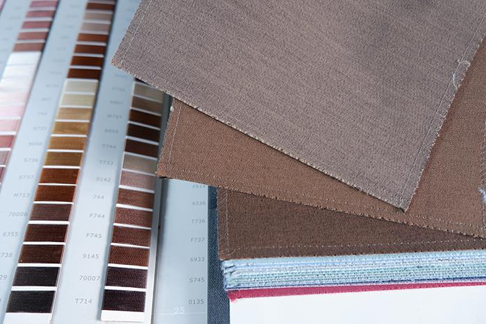 Rèm vải trơn một màu