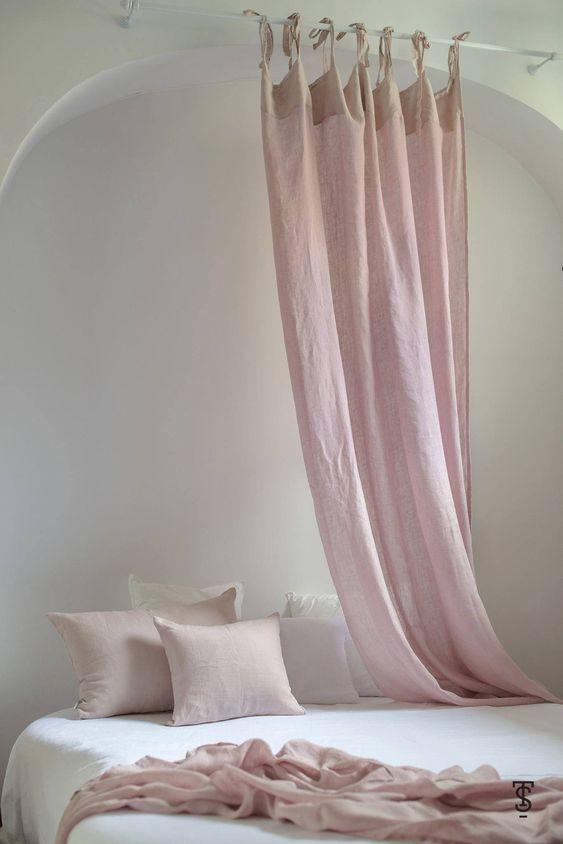 Độ rủ của rèm rất tự nhiên và mền