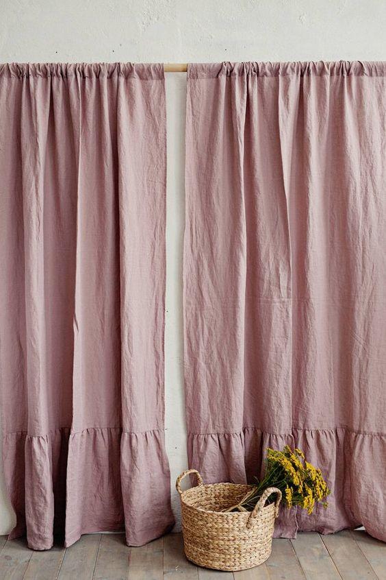 rèm vải bố cao cấp