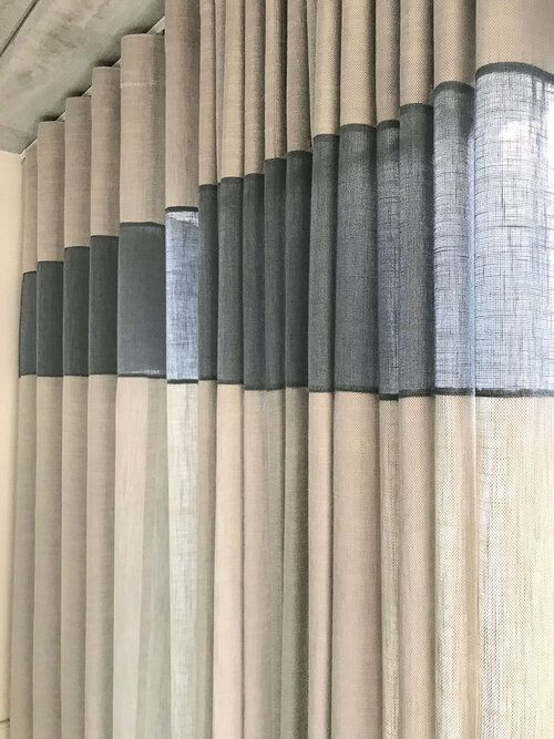 Mẫu rèm vải thô đẹp cao cấp