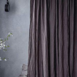 Rèm vải bố linen phù hợp với mọi không gian