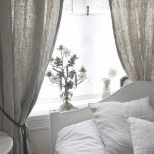 Hình ảnh rèm vải linen, bố RCH-Grey