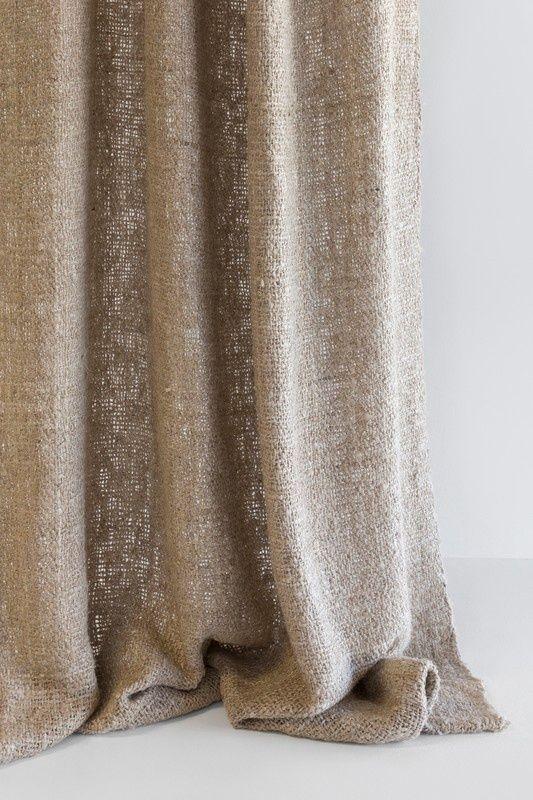 Rèm vải linen, bố RCH-Melange Connamo