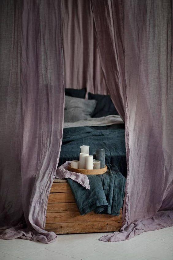 Rèm vải phòng ngủ