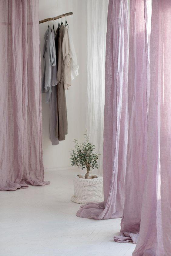 Rèm vải line bố đẹp