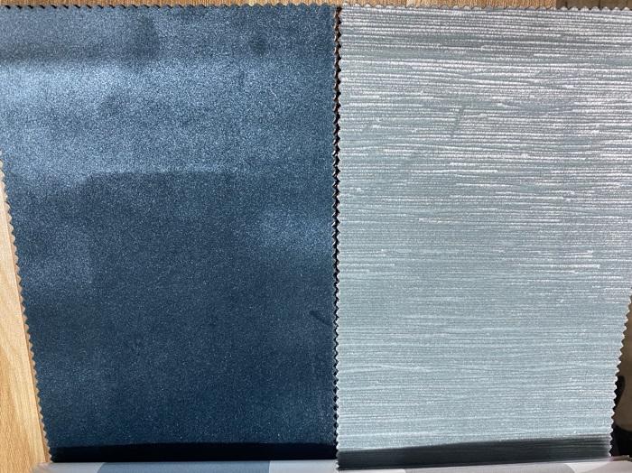 Cận chất vải của rèm vải nhung J201-390
