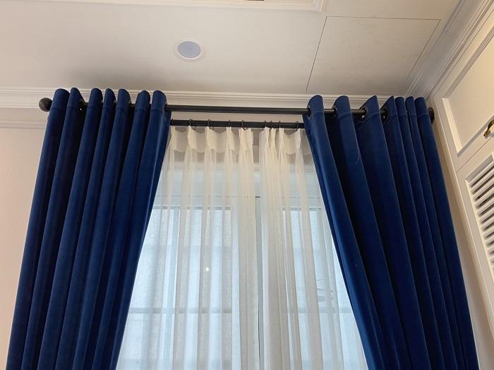 Rèm vải nhung nỉ RM-J201-390-7