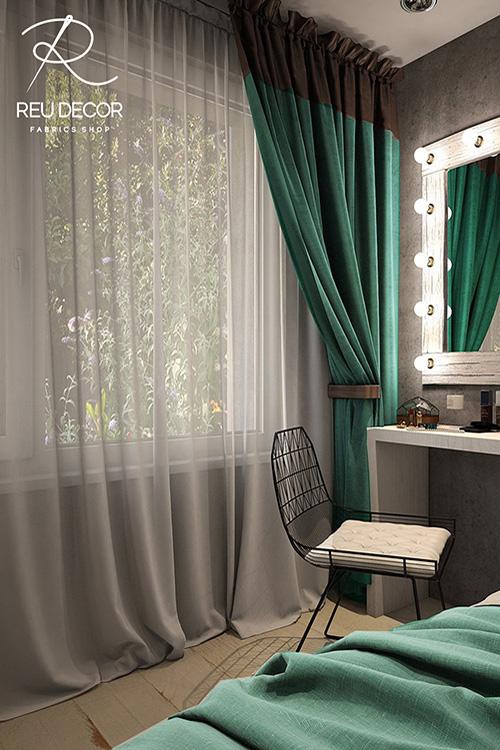 LDP -Chọn mẫu rèm – Rèm vải hiện đại