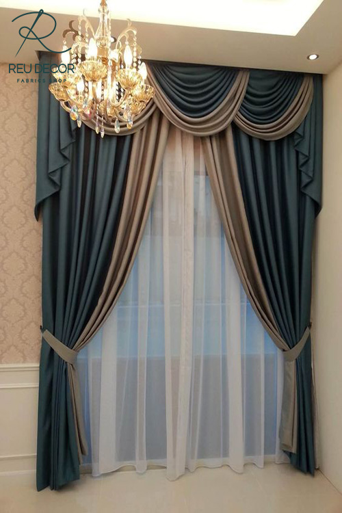 LDP -Chọn mẫu rèm – Rèm cổ điển