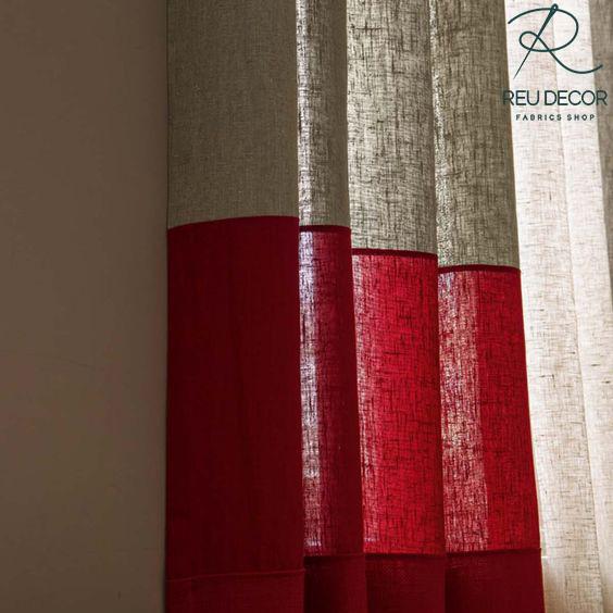 LDP6 – Rèm vải linen, vải bố – Rèm vải line, bố RLB003