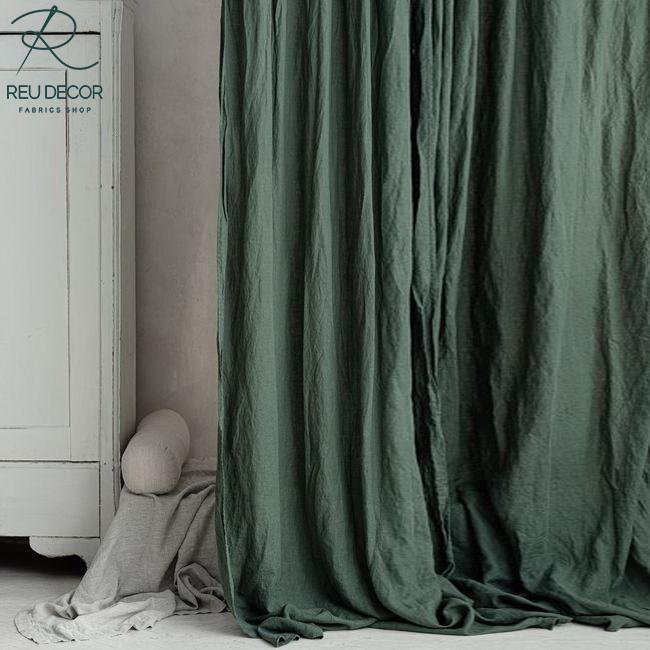 LDP6 – Rèm vải linen, vải bố – Rèm vải line, bố RLB006