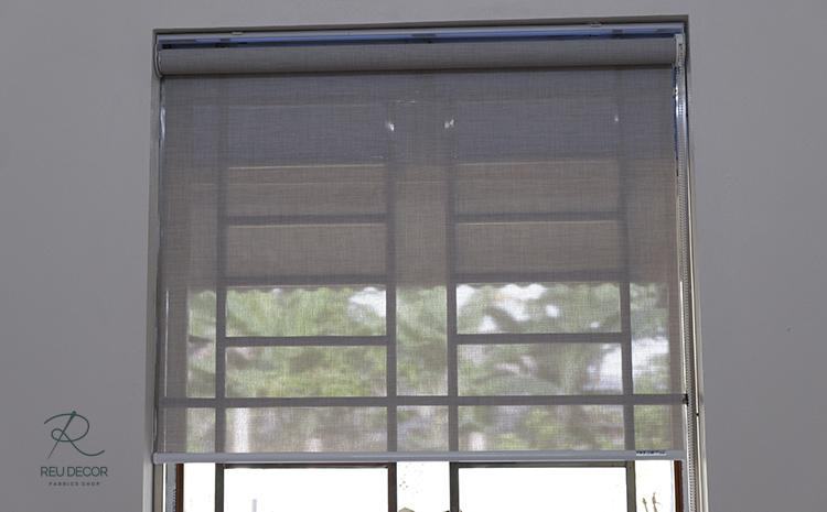 Rèm phòng ăn giúp căn phòng có thể lấy một lượng ánh vừa đủ